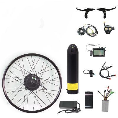 26 inch lithium battery 36v 500w electric bike conversion kit